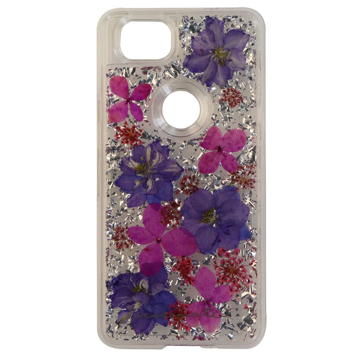 Case-Mate Karat Petals Series Hard Case for Google Pixel 2 - Purple/Pink Flowers - Macs Plus More