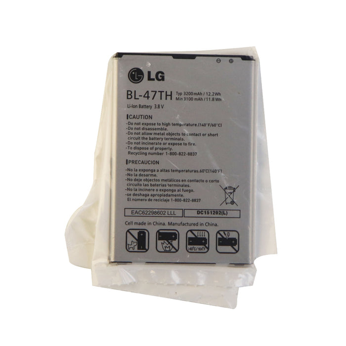 LG Rechargeable (BL-47TH) Li-ion Battery 3200mAh for Optimus G Pro - Macs Plus More