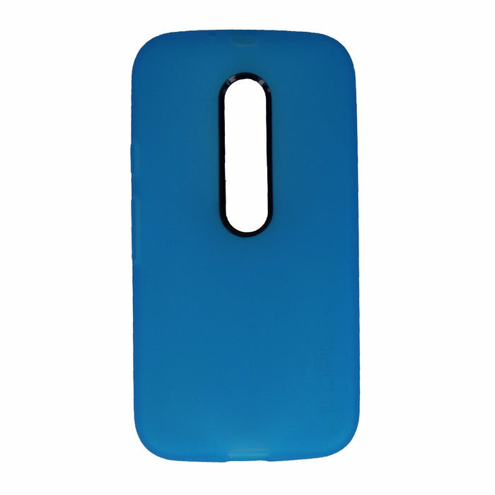 Incipio NGP Series Flexible Gel Case for Motorola Moto G (3rd Gen) - Cyan Blue - Macs Plus More
