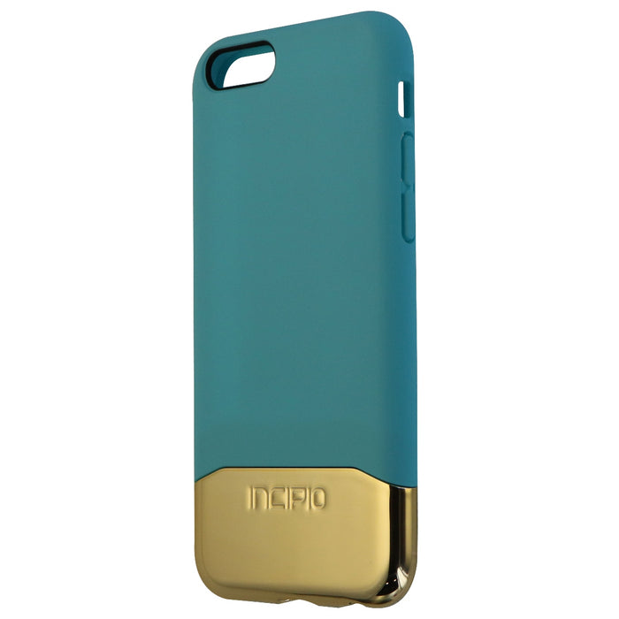 Incipio 2-Piece Slider Case for Apple iPhone 6s and iPhone 6 - Teal / Gold - Macs Plus More