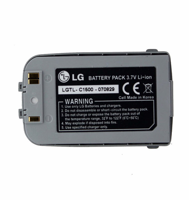 LG Rechargeable OEM Battery for LG C1500 - Dark Gray (LGTL-C1500) - Macs Plus More