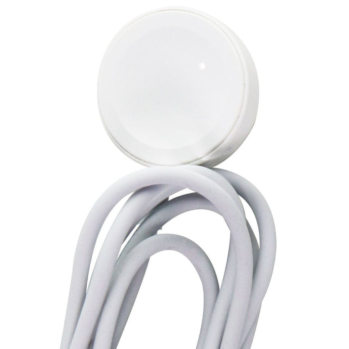 Apple (1m) Magnetic USB Charger for Apple Watch All Series - White (A2056) - Macs Plus More