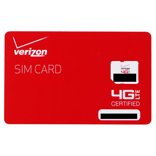 Verizon Wireless 4G LTE Micro SIM Card (BULKSIM-NFC-D) - Macs Plus More