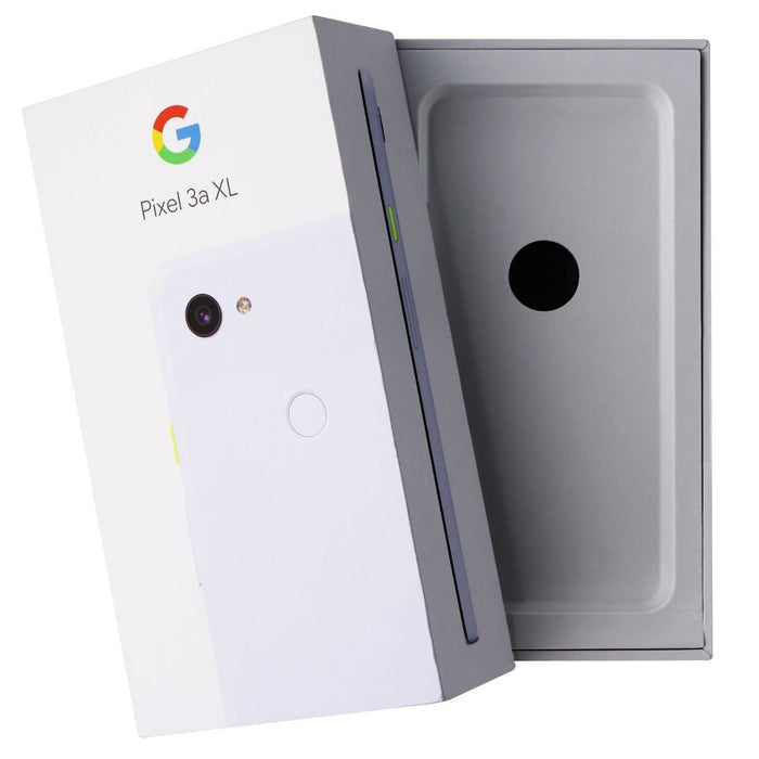 RETAIL BOX - Google Pixel 3a XL - 64GB / Purple-ish - NO DEVICE - Macs Plus More