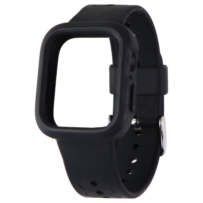 40mm Case + Band for Apple Watch 40 & 38mm All Series - Black/Silver