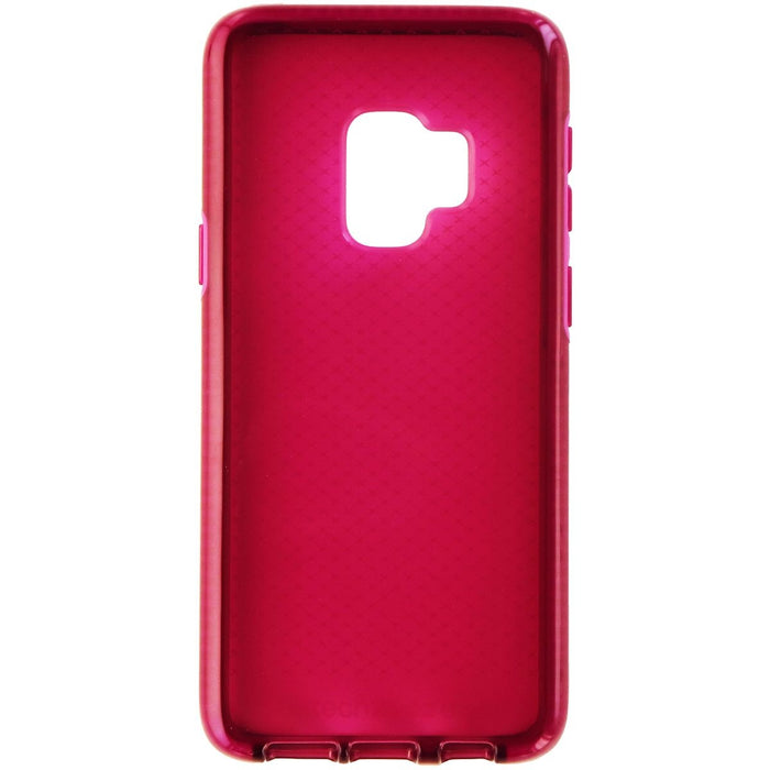 Tech21 Evo Check Series Soft Gel Case for Samsung Galaxy S9 - Pink Fuchsia - Macs Plus More