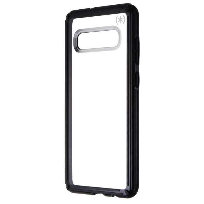 Speck Presidio V-Grip Series Case for Samsung Galaxy S10+ (Plus) - Clear / Black - Macs Plus More