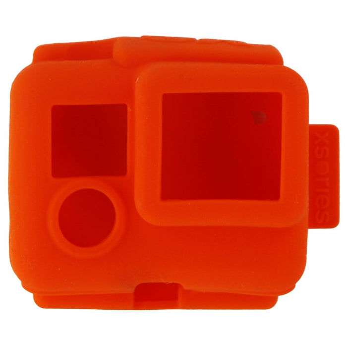 XSories Silicone Cover Case for GoPro Hero, Hero 3, 3+ and Hero 4 - Orange - Macs Plus More