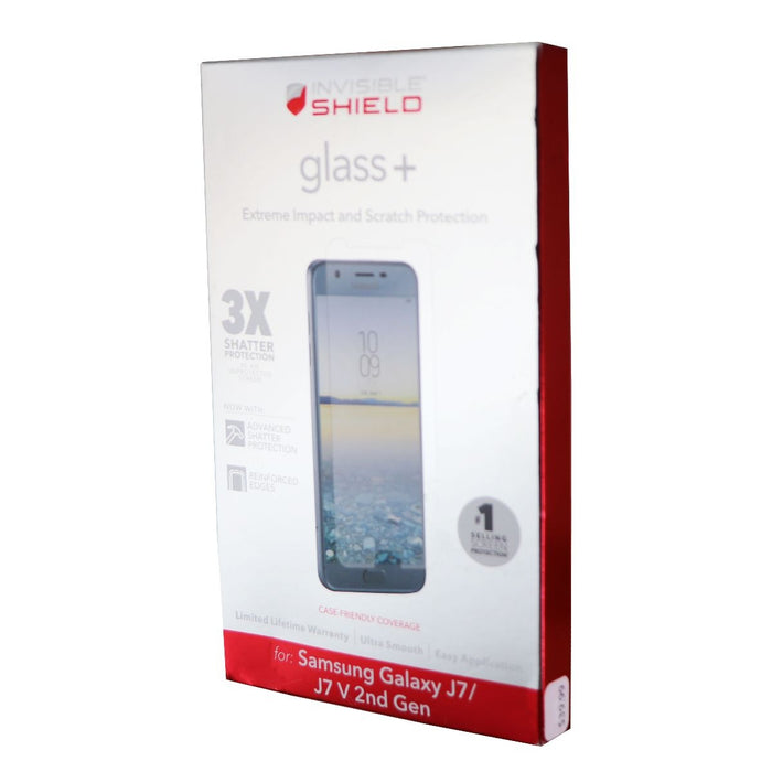 Zagg Invisible Shield Tempered Glass + Screen Protector for Samsung Galaxy J7