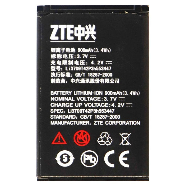 OEM ZTE LI3709T42P3H553447 900 mAh Replacement Battery for ZTE Essenze - Macs Plus More