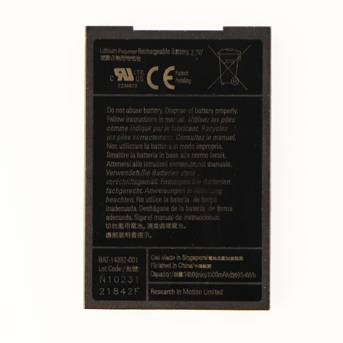 OEM Replacement 1500 mAh Battery for BlackBerry Devices (BBBAT1500)