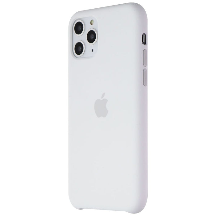 Apple Silicone Case for iPhone 11 Pro Smartphones - White (MWYL2ZM/A) - Macs Plus More