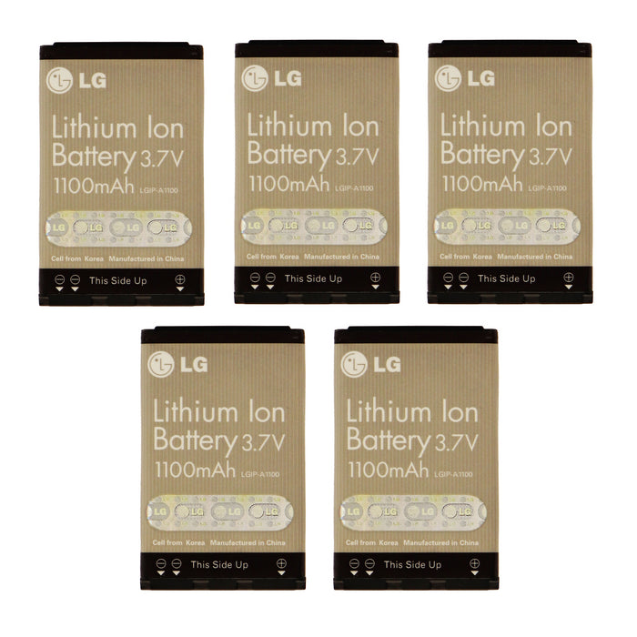 KIT 5x LG LGIP-A1100 1100 mAh Replacement Battery for VX4700 VX5200 VX8300 - Macs Plus More