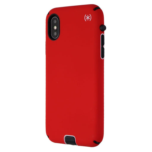 Speck Presidio Sport Series Case for Apple iPhone XS and X  - Matte Red/Black - Macs Plus More