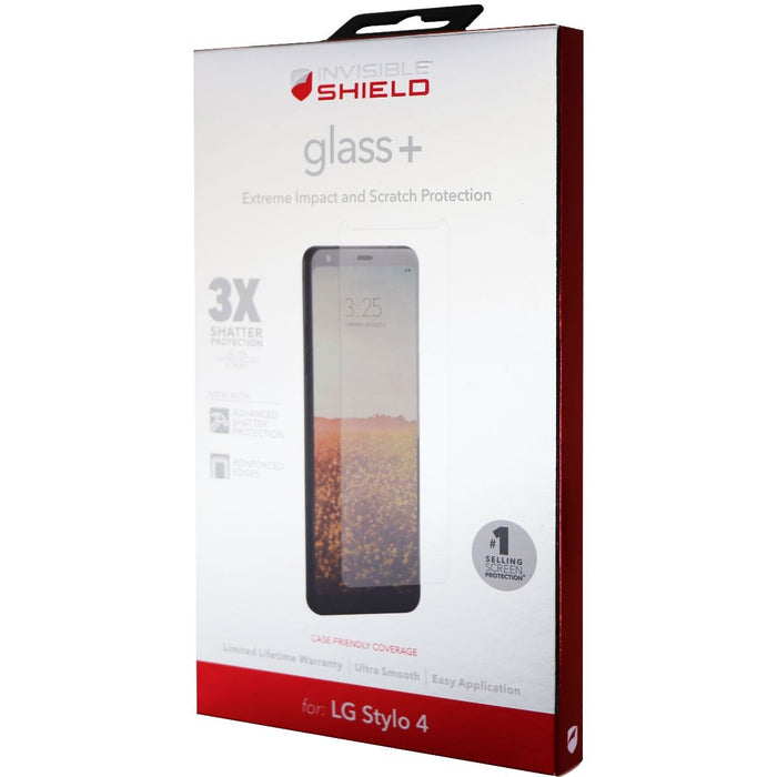 ZAGG (Glass+) Series Tempered Glass Screen Protector for LG Stylo 4 - Clear