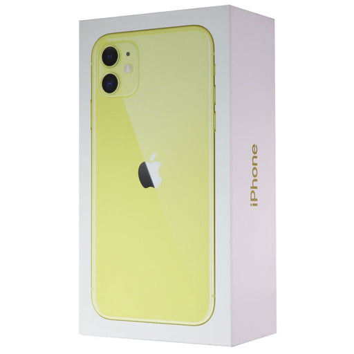 RETAIL BOX - Apple iPhone 11 - 128GB / Yellow - NO DEVICE - Macs Plus More