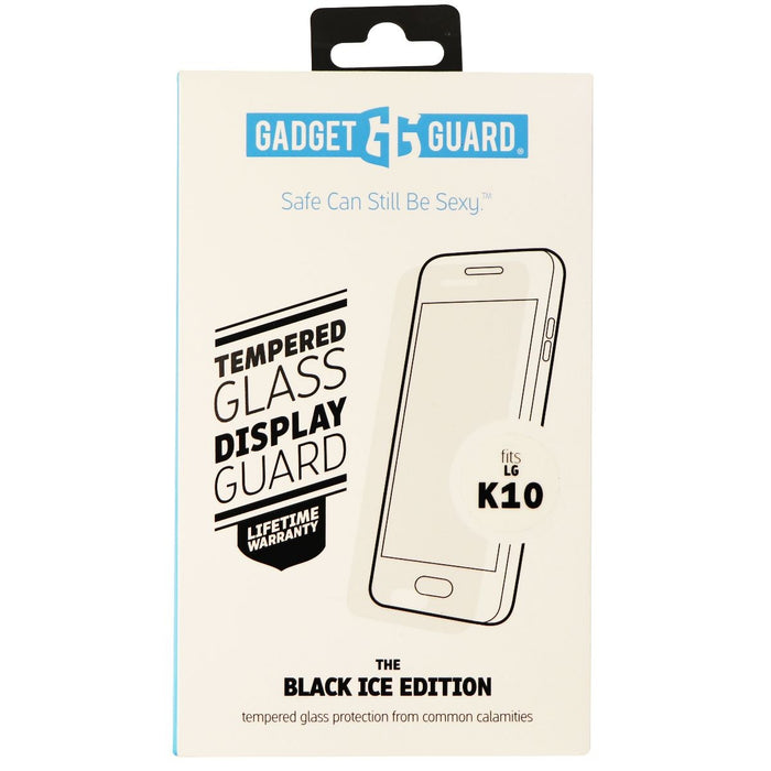 Gadget Guard Black Ice Tempered Glass Screen Protector for LG K10 - Clear - Macs Plus More