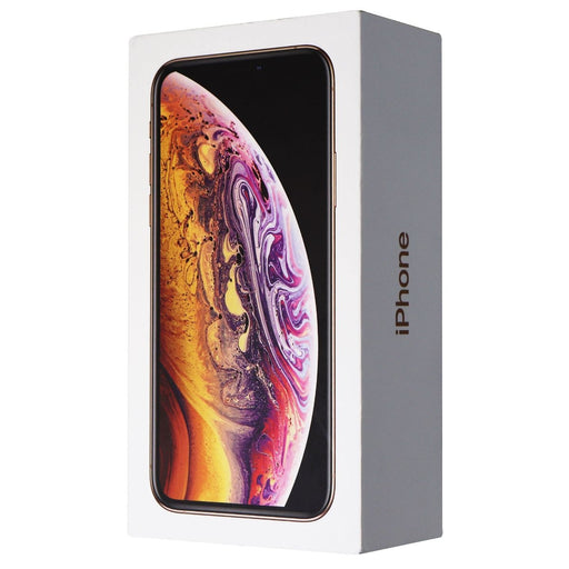RETAIL BOX - Apple iPhone Xs - 64GB / Gold - NO DEVICE - Macs Plus More