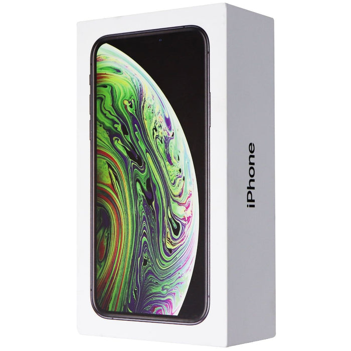 RETAIL BOX - Apple iPhone Xs - 64GB / Space Gray - NO DEVICE - Macs Plus More