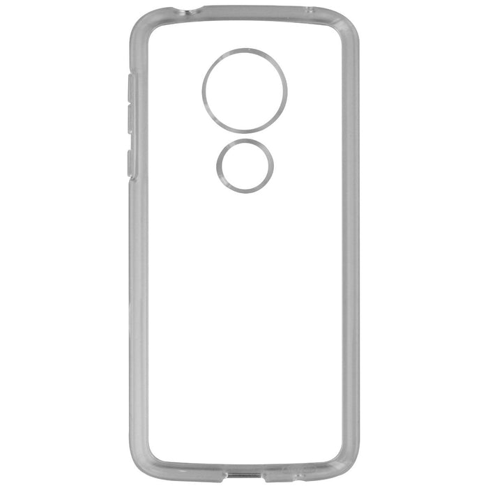 Speck GemShell Series Hybrid Case for Motorola Moto G6 Play Smartphone - Clear - Macs Plus More