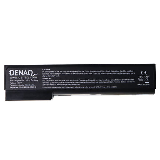 Denaq 6-Cell Li-Ion 5200 mAh Battery for Select HP Laptops (DQ-HSTNN-CB2F-6) - Macs Plus More