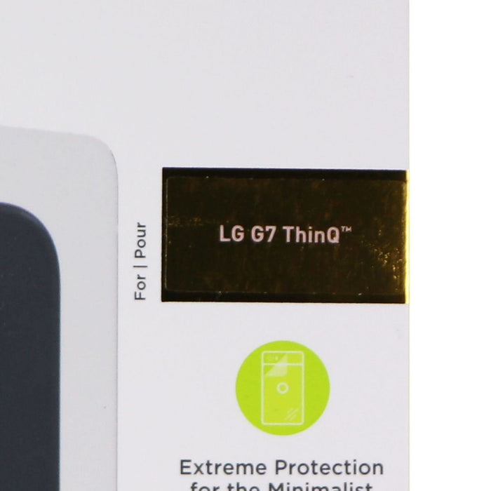 PureGear Extreme Impact Back of The Phone Protector for LG G7 ThinQ - Clear