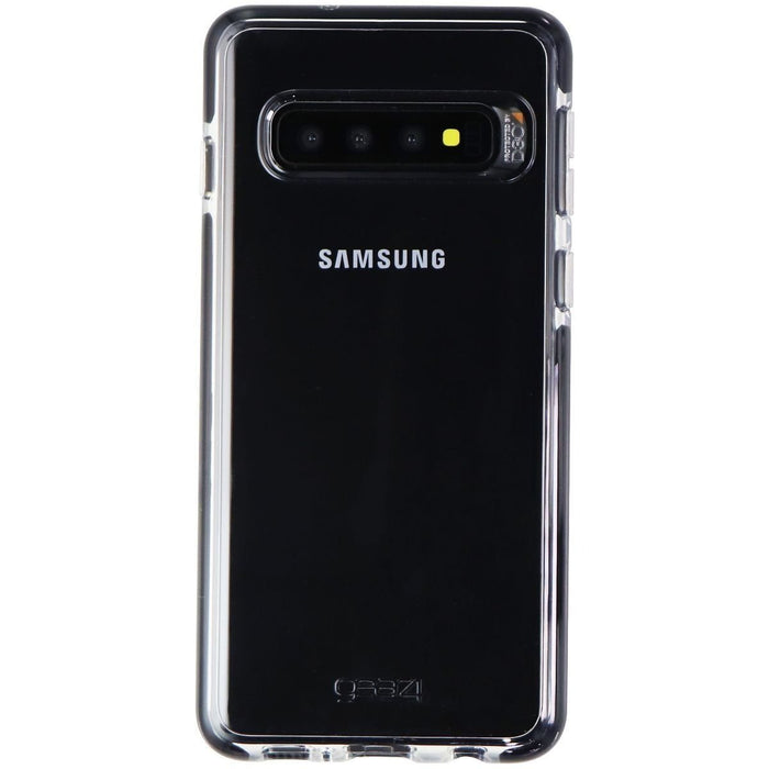 Gear4 Piccadilly Series Hybrid Case for Samsung Galaxy S10 - Clear/Black - Macs Plus More