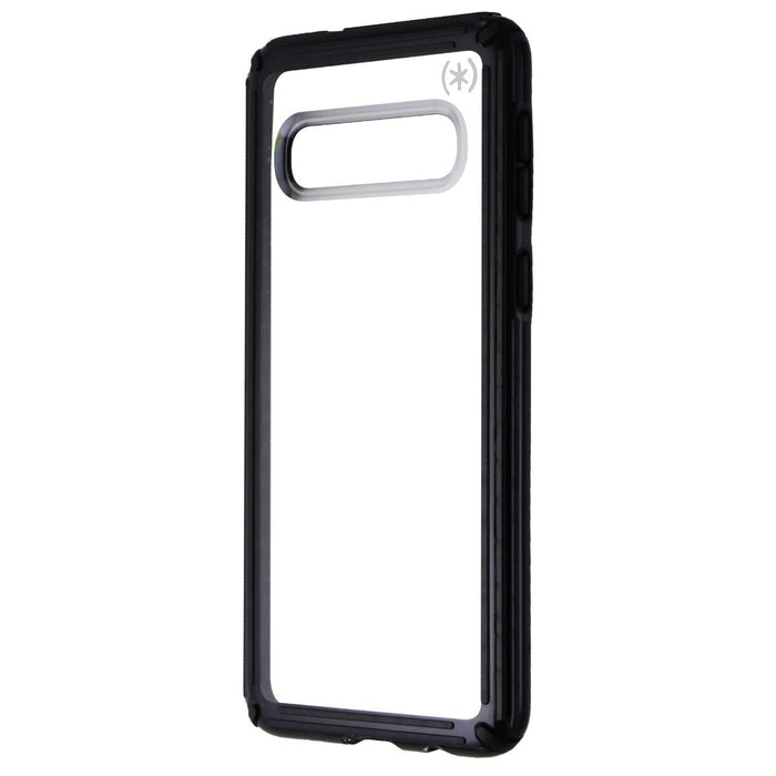 Speck Presidio V-Grip Series Case for Samsung Galaxy S10 - Clear / Black - Macs Plus More