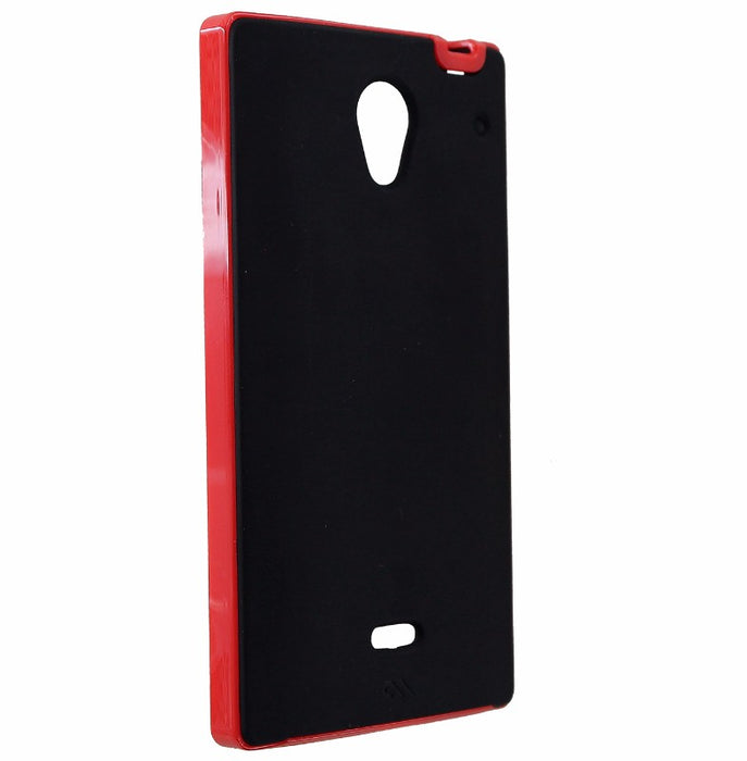 Case-Mate Slim Tough Case for Sharp Aquos Crystal - Black/Red