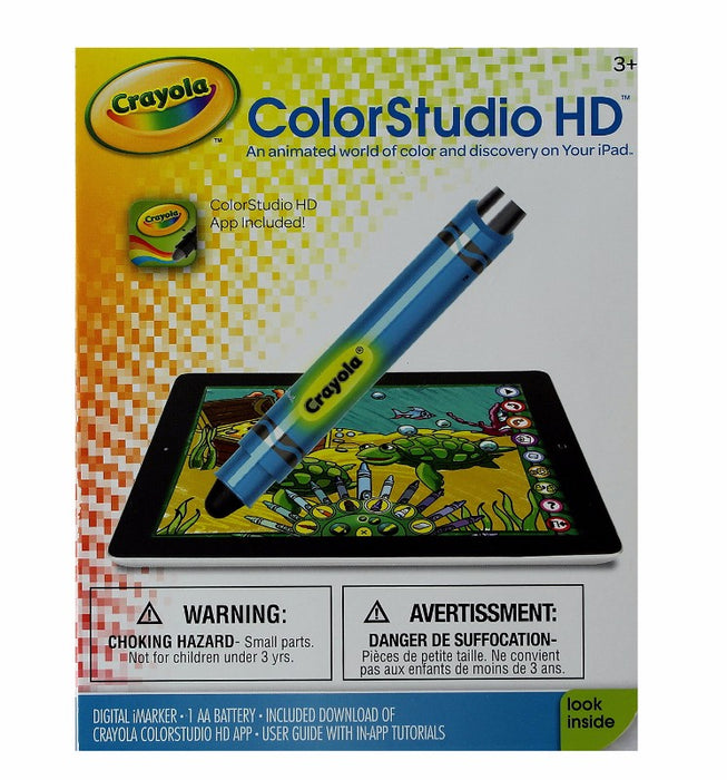 Griffin Blue Crayola ColorStudio HD for Apple iPad - Blue - Macs Plus More