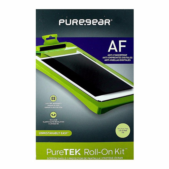 PureGear Puretek Anti-Fingerprint Screen Protector Roll-On Kit - LG G Pad 7.0 - Macs Plus More