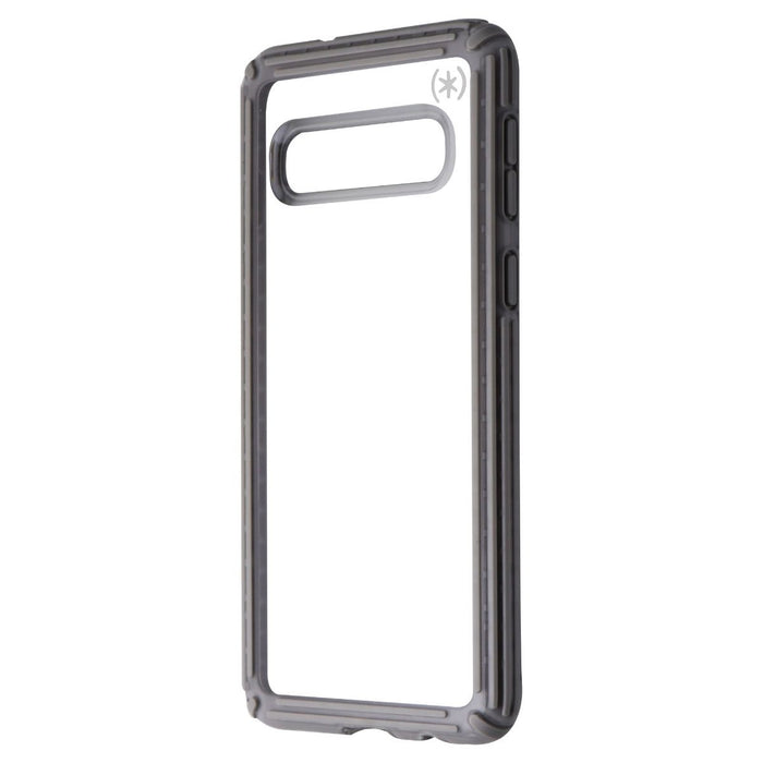 Speck Presidio V-Grip Series Case for Samsung Galaxy S10 - Clear / Gray - Macs Plus More