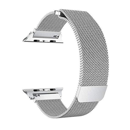 Apple Milanese 38mm Watch Band for Apple Watch Series 3/2/1 - Silver - MJ5E2ZM/A - Macs Plus More
