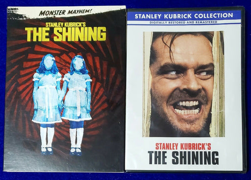 Monster Mayhem! Stanley Kubrick's THE SHINING with Slip Cover - Macs Plus More
