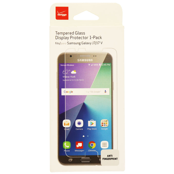 Verizon Tempered Display Protector for Samsung Galaxy J7 - Clear - Macs Plus More