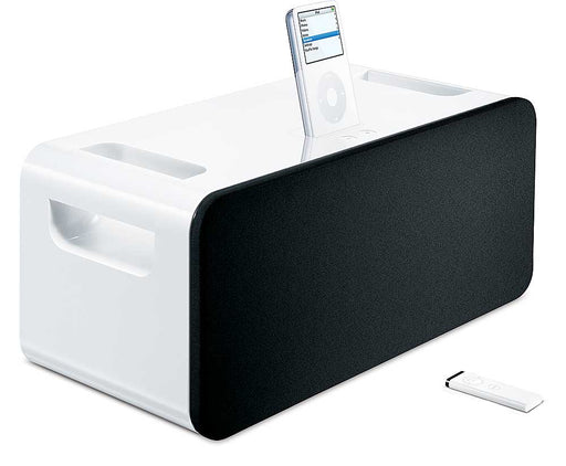 Apple iPod Hi-Fi Speaker Dock Model A1121 with Remote and Power Cord - Macs Plus More