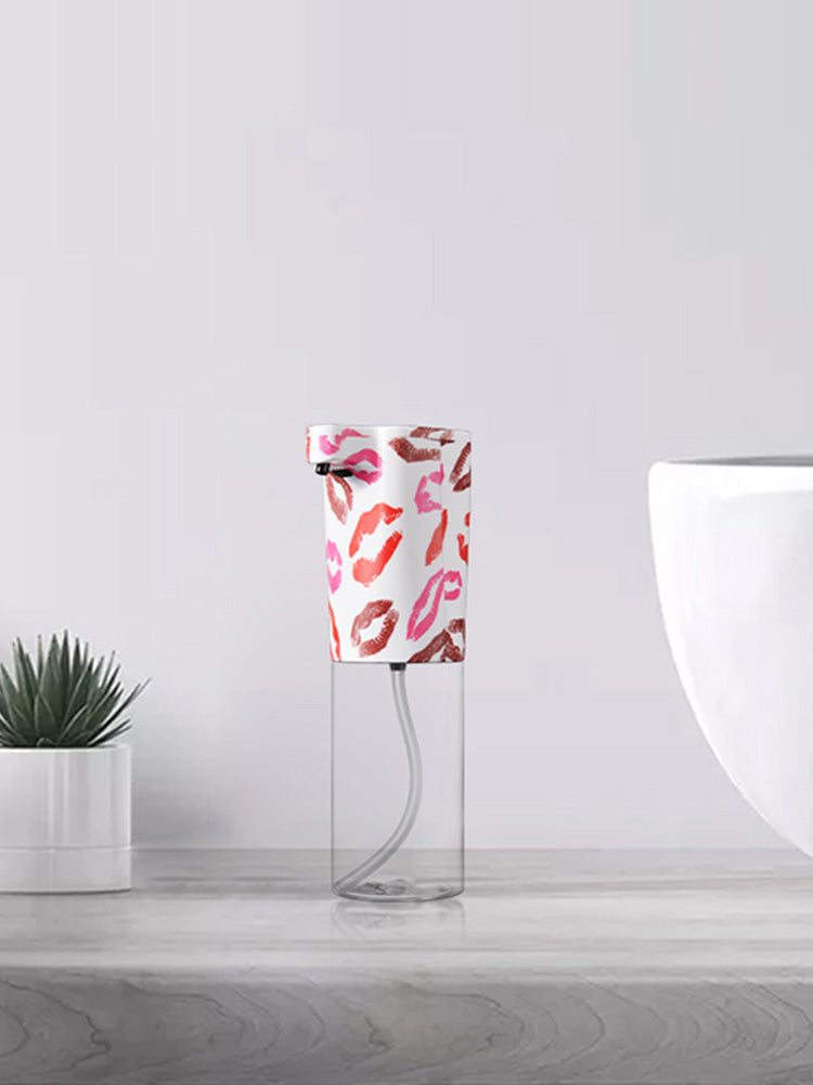 Automatic Foam Dispenser in Pink Lipstick for your bathroom and kitchen from Vaucluse Home.
