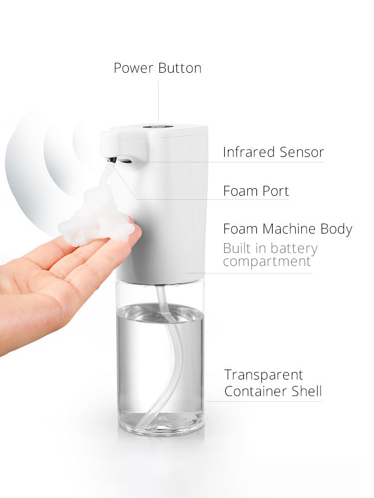 Automatic Foam Dispenser product detail page from Vaucluse Home.