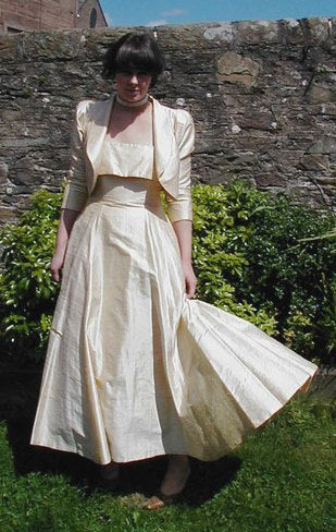 Droopy & Browns 80s ballgown