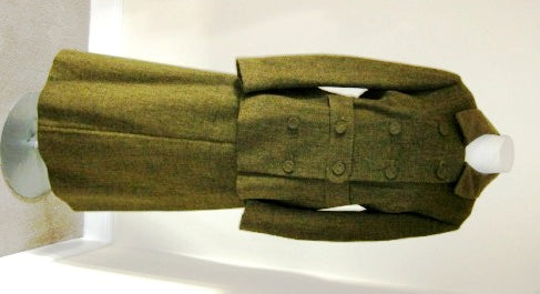 Green Country Life tweed skirt suit