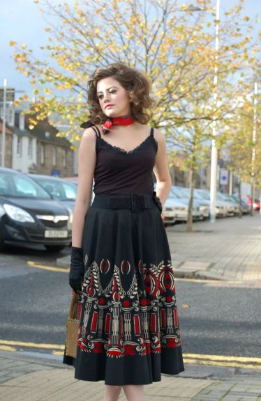SIOBHAN CIRCLE SKIRT