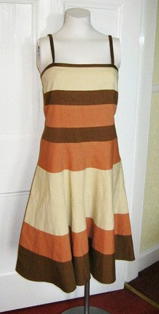 DKNY colour block dress