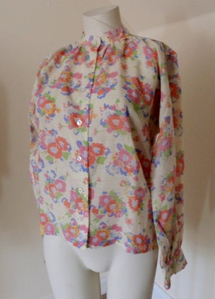 hardy amies floral blouse