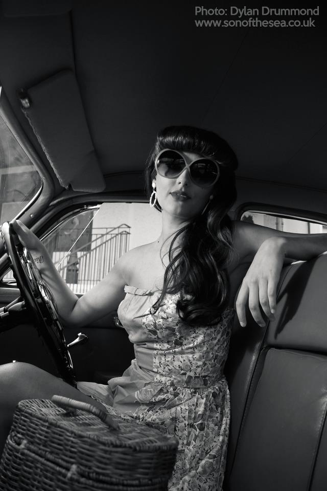 Dundee pin up shoot by Dylan Drummond