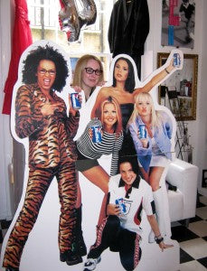 spice girls at RARA