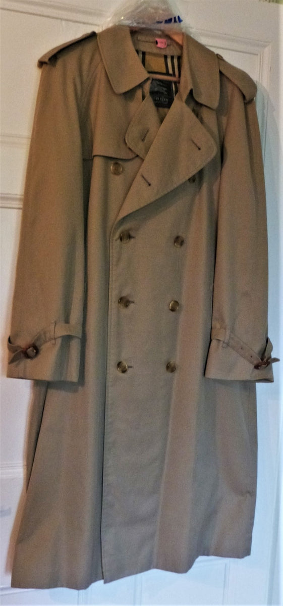 Men S Burberrys Austin Reed Classic Beige Trench Coat The Frockery