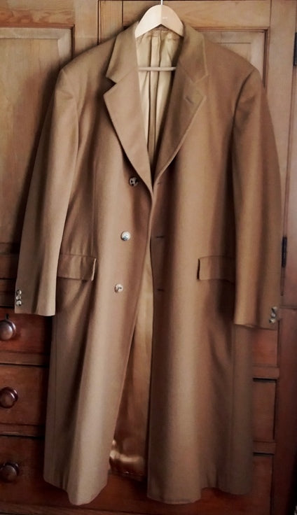 Men S Vintage Austin Reed Camel Overcoat The Frockery
