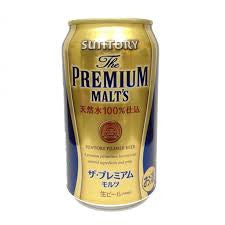 Suntory Premium Malt's Can Beer (350ml) 1 Case = 24 Cans|三得利Premium Malt罐裝啤酒 (350ml) 1 Case = 24 Cans