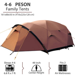 GeerTop LandLope 3 3-Persons 4-Season Family Tent