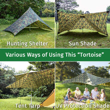 Load image into Gallery viewer, GeerTop 2-4 persons Large Waterproof Rain Fly Sun Shelter Tent Tarp
